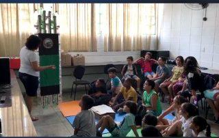 Aula em Escola de Ensino Fundamental